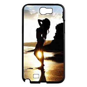 Beautiful Sun DIY Case for Samsung Galaxy Note 2 N7100, Custom Beautiful Sun Case