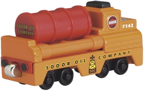 (Take-Along Thomas - Oil Barrel Car Die-Cast)