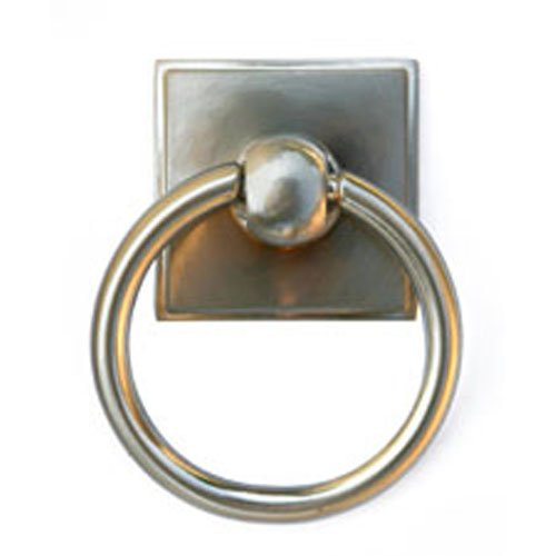 Chrome Knob Cabinet Pull Accessory (Alno A580-PC Eclectic Modern Pulls, 2-3/8