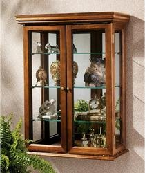 Glass Curio Cabinets - Country Tuscan - Wall Mounted Curio Cabinet by Design Toscano