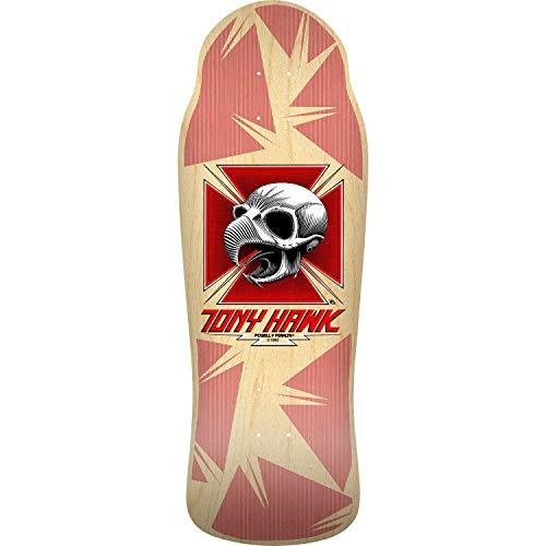 Bones Brigade Skateboard Deck Hawk Chicken Skull 11th Series Natural 10.41