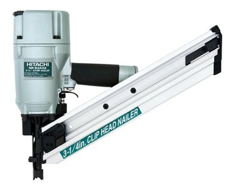 Hitachi NR83AA3 Clipped Head 2-Inch to 3 1/4-Inch Framing Nailer  (Discontinued by Manufacturer)