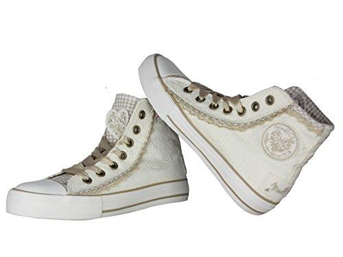 Krüger Ladies Sneaker Cream Dream 4122 Beige Crema