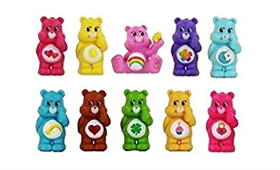10 Figure Cake ToppeR Care Bears Playset