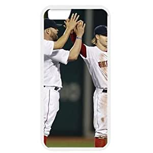 MLB iPhone 6 White Boston Red Sox cell phone cases&Gift Holiday&Christmas Gifts NBGH6C9125139