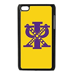Chi Psi Symbol Yellow iPod Touch 4 Case Black Exquisite gift (SA_698842)