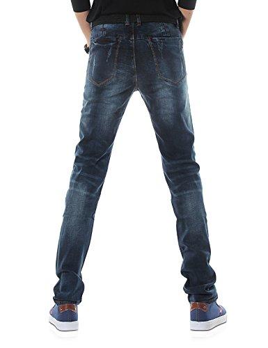 Blu Uomo Serie Jeans amp;hunter Demon Magro X Dh3033 817 Elasticoizzato 7H4qF