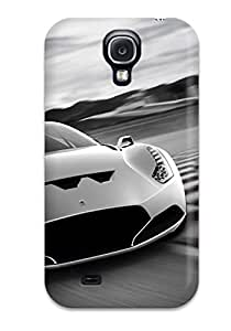 EuniceNSmith Case Cover Protector Specially Made For Galaxy S4 Amazing Ferrari Wallpaper