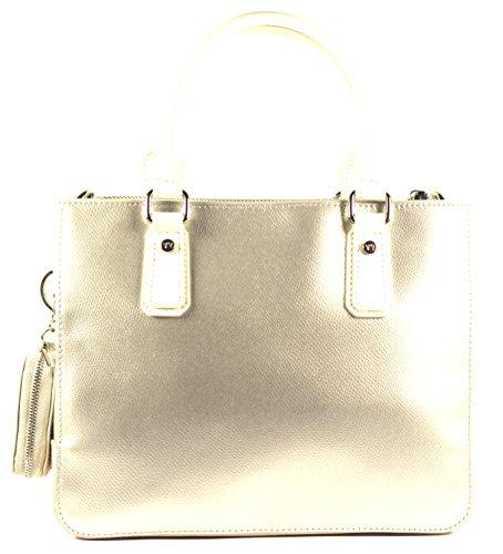 YNOT Tasche MELODY C Damen Leder Silver - MC01PM39