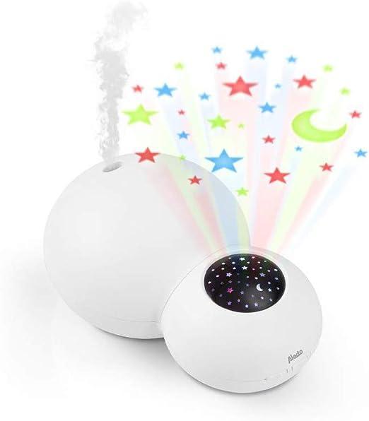 Alecto al-bc21 humidificador y Proyector Luz nocturna: Amazon.es: Bebé