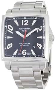 Certina  C001.507.11.057.00 - Reloj de automático para hombre, con correa de acero inoxidable, color plateado