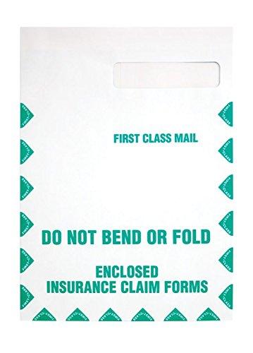 Quality Park, HCFS-1508 Window Envelopes, Redi-Seal, First Class, White, 100 per box,(54692)