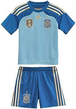 adidas Conjunto Jr Portero Selección Española 2014 Azul Talla 98 ...