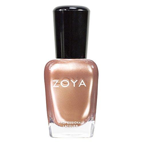 zoya peach nail polish - 1
