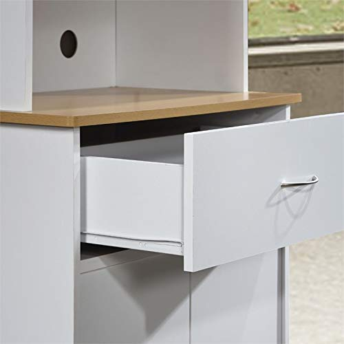 Pemberly Row Kitchen Cabinet in White by Pemberly Row (Image #4)