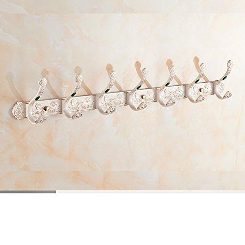 cheap European-style clothes hooks/row hook/Wall hanging hooks/Door hangers/ bathroom clothes hook-E