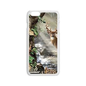 Deer Fabric Print Design Hard Case Cover Protector For Iphone 6