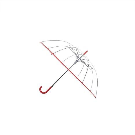 Paraguas Paraguas Transparente pequeño Paraguas Plegable Fresco a Prueba de Viento Paraguas protección Solar Paraguas para