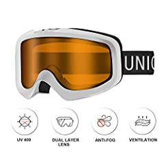 Unigear make every effort to produce the most comfortable products of great value for outdoor sports lovers. We did lots of tests and communicated many times with our manufacture about the design and quality of Ski Goggles to meet different c...
