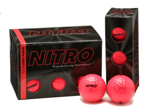 Nitro Tour Distance  Golf Balls (Pack of 12, ()
