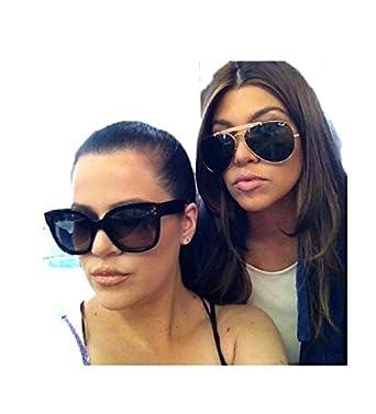 30b08994d7 Celine Polarized Gold Aviator Sunglasses White pilot 41490 S Kim kardashian  celebrity at Amazon Women s Clothing store