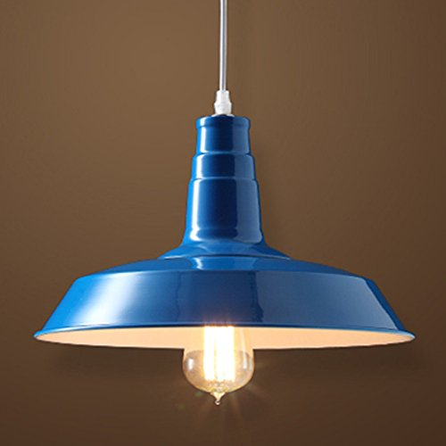 Navy Blue Pendant Light - 3