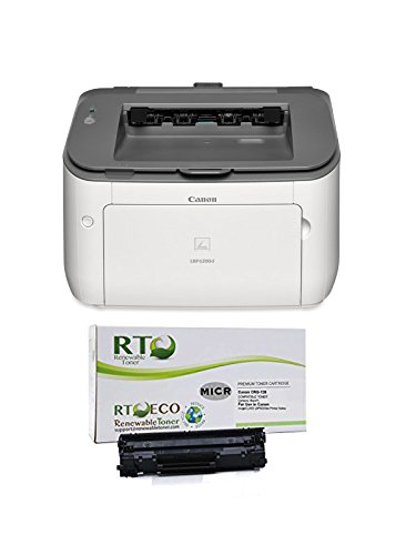 Renewable Toner LBP6230dw Check Printer Bundle with Compatible 126 CRG-126 3483B001 MICR Toner Cartridge for Check Printing