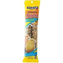 Vitakraft Canary Fruit & Egg Treat Sticks 2 Pack, 1.4 Ounce