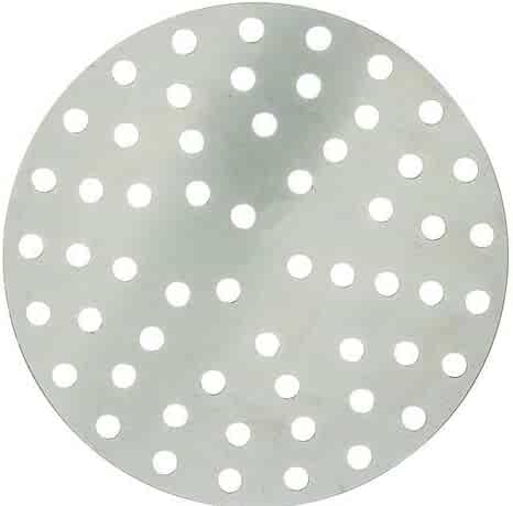 Winco APZP-18P, 18-Inch Aluminum Perforated Pizza Disk with 275 Holes, Pizza Screen