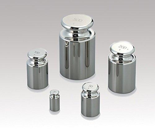 村上衡器製作所1-3774-08標準分銅F-1級質量校正付100g   B07BD3Y941
