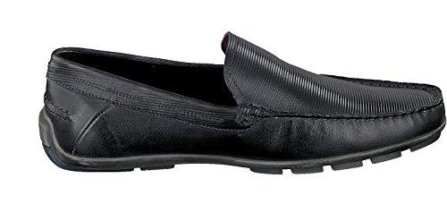 Bugatti Hombres mocasín negro MARTIN 331-26260-1100 schwarz