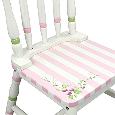 Fantasy Fields - Bouquet Thematic Kids Wooden 2 Chairs Set |Imagination Inspiring Hand Crafted & Hand Painted Details | Non-Toxic, Lead Free Water-based Paint: Baby