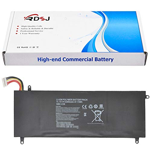 RDSJ Compatible GNC-C30 Battery Replacement for Schenker XMG C404 Gigabyte 14