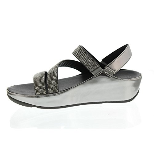 Z In Peltro strap Crystall Fitflop Sandals p1q4PxOw1