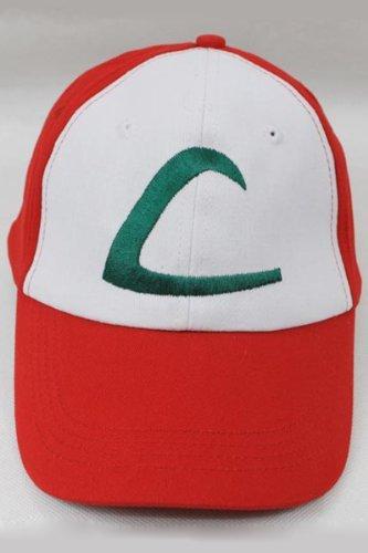 [Icetek Sports Pokemon Ash Ketchum Cap] (Baseball Girl Costume)