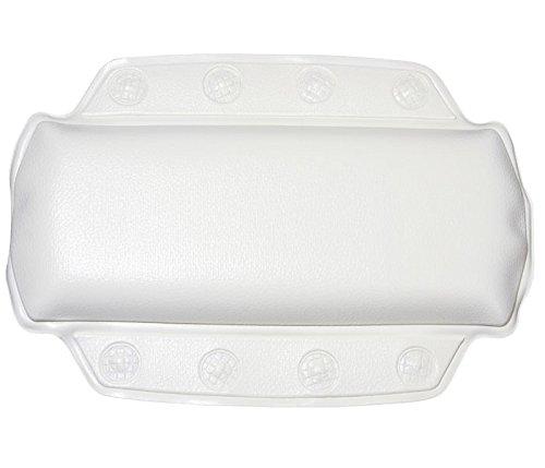 Kleine Wolke 5366100008 - Cuscino da bagno per collo, 32 x 22 cm, colore: Bianco