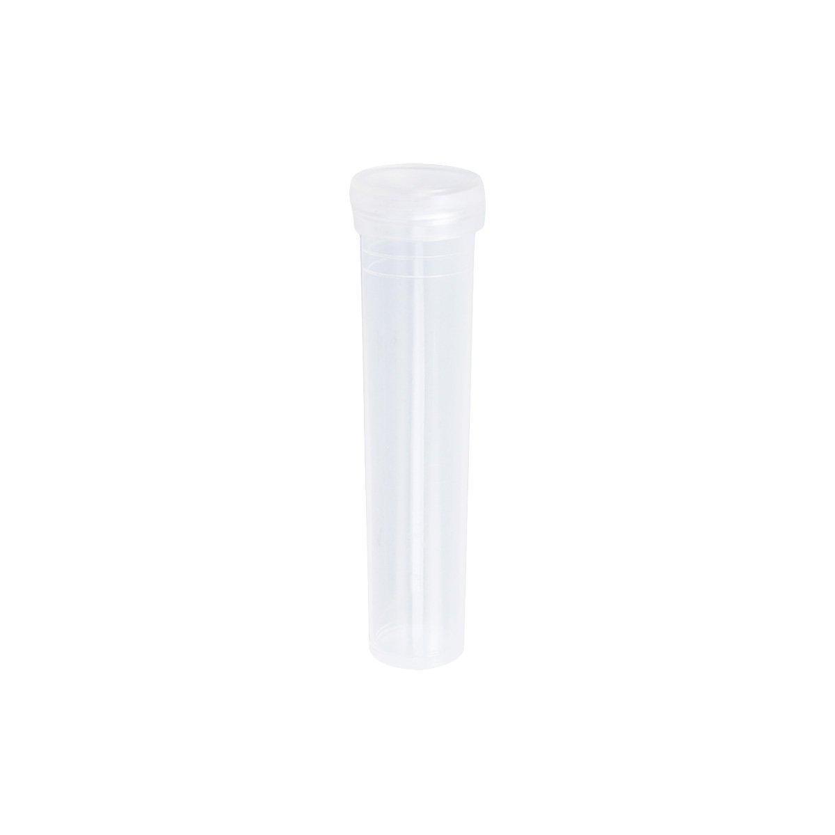 100 St/ück Healifty Aquarium Tubi Reagenzgl/äser aus transparentem Kunststoff Blumenkappen