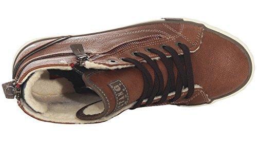 Mustang 1209-601 Womens Sneakers Braun (Kastanie 301) FDrcTOi