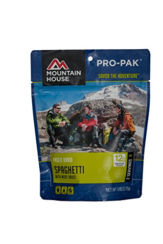 Mountain House Spaghetti with Meat Sauce Pro-Pak Beef Tomato Paste