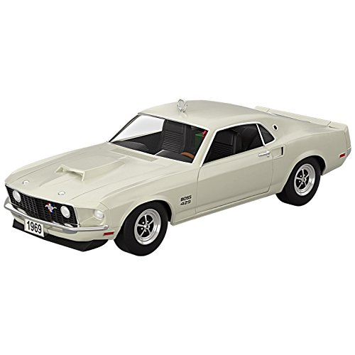Hallmark Keepsake 2017 Classic American Cars 1969 Ford Mustang Boss 429 Dated Christmas Ornament