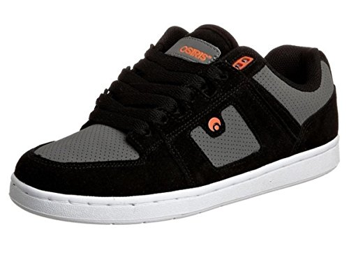 Black Osiris Skateboard Schuhe OS Orange Charcoal 96 qxSg0xw1