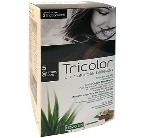 Specchiasol Tricolor - Tinte para cabello castaño claro 5 ...