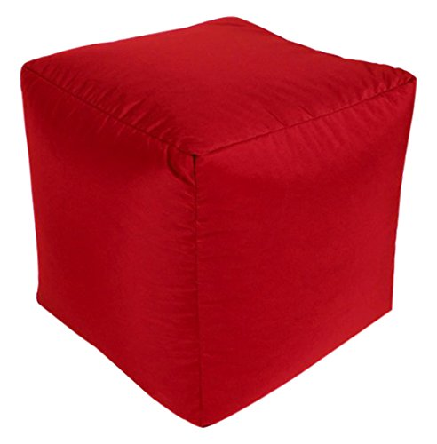 Beautiful Beanbags Red Outdoor Cube Beautiful Beanbags Ltd RED-OD-CUBE