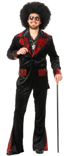 Whiskey River Mac Daddy Adult Costume - Mens Small (Mac Daddy Costume)