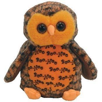 c4fa165a4aa Amazon.com  Ty Beanie Babies Boo Who  - Owl (Hallmark Gold Crown ...