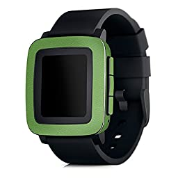 Color Series Skins/wraps for Pebble Time (Green)