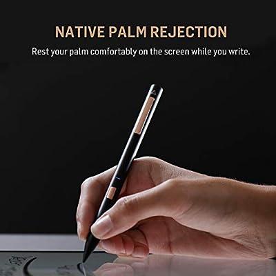 Adonit Note Natural Palm Rejection Stylus for iPad Pro (3rd Gen), iPad (6th  Gen), iPad Air (3rd Gen) and iPad Mini (5th Gen) - Black
