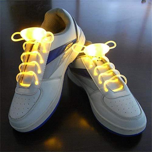 2 Pairs Novelty Luminous Shoelaces Light Up LED