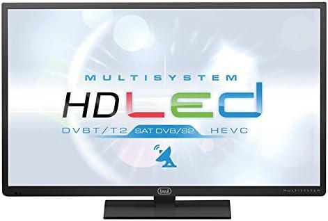 Trevi LTV 3203 81 cm (32 Pulgadas) televisor sintonizador Triple Cable Analog C de sintonizador Sat DVBS de 2 DVB-T2 H.265 hevc Clase energética A +: Amazon.es: Electrónica