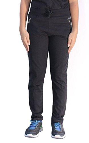 Romano - Pantalon de sport - Relaxed - Uni - Femme Noir Noir